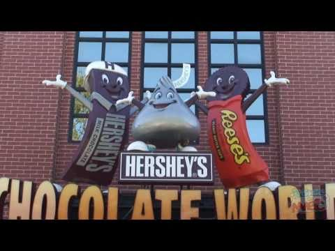 Hershey's Chocolate World - An overview from Hershey, Pennsylvania