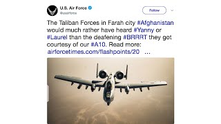 Air Force tweets joke about deadly battle in Afghanistan - WASHINGTONPOST