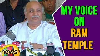 VHP Leader Pravin Togadia alleged Attempts Made to muzzle my voice on RAM Temple | Mango News - MANGONEWS