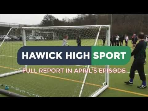 Hawick High School | Staff vs. Students Football Match 2015 | Highlights