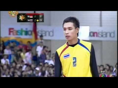 Sepak takraw ISTAF Super Series 2011 Men's team Final - Thailand vs Indonesia (Part 4)