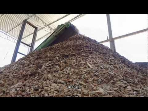 Reciclagem de Madeira com o Picador PTL 240 x 600 - Reciclando resíduos de áreas urbanas