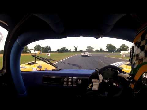 2012 Britcar British Endurance Championship Snetterton 19-8-12 Race Start