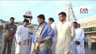 AP DGP RP Thakur Visits Tirumala Tirupati Temple | CVR News - CVRNEWSOFFICIAL