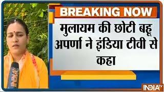 Exclusive: Mulayam Singh Yadav's Daughter-In-Law Aparna Yadav Speaks On Lok Sabha Elections 2019 - INDIATV