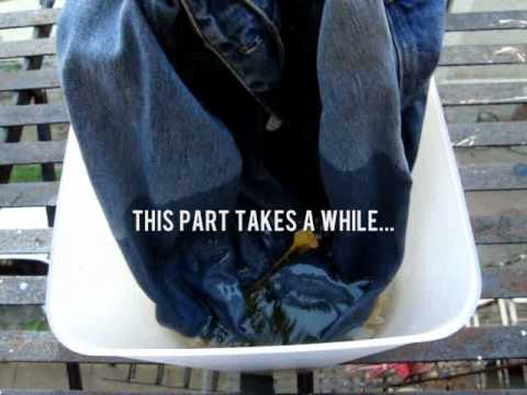 Fashion DIY bleached denim jacket