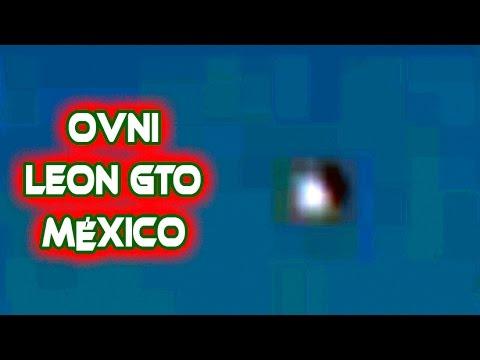 OVNI con potente luz sobre Mexico. Videos de OVNIs reales Octubre 2014
