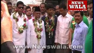 Ahmed Pasha Quadri's door to door canvassing at Darusshifa, Charminar constituency - THENEWSWALA