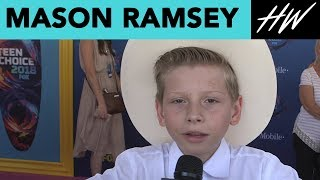 Mason Ramsey, Yodeling Kid, Feels Like Justing Bieber! | Hollywire - HOLLYWIRETV