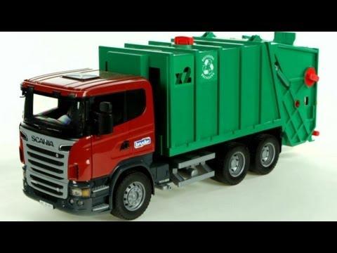 Scania R-Series Garbage Truck – Muffin Songs' Oyuncakları Tanıyalım