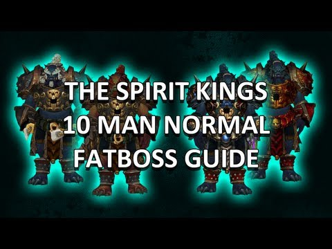 The Spirit Kings 10 Man Normal Mogu'shan Vaults Guide - FATBOSS