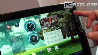 CeBIT 2011: ASUS Eee Pad Transformer tablet PC preview