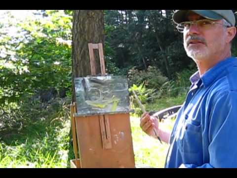 Landscape Painting Workshop with Jordan Wolfson, Orcas Island 2011