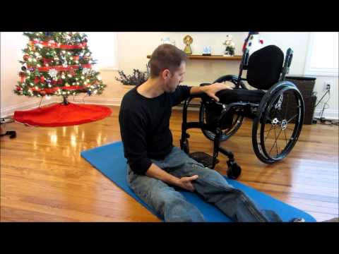 floor to wheelchair transfer 1
