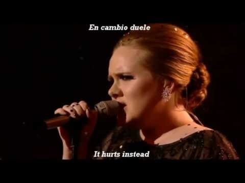 Adele Someone Like You Subtitulada