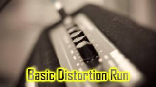 Royalty Free :Basic Distortion Run