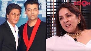 Neena Gupta calls Shah Rukh Khan & Karan Johar CHEAP and MEAN & targets Mahesh Bhatt - ZOOMDEKHO