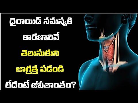 థైరాయిడ్ సమస్య'' ప్రమాధకర ఈ వస్తువుల వల్లే | thyroid samasya pramadhakara e vasthuvalu valla ?