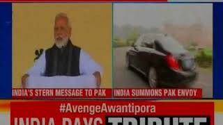 Pulwama Colen: PM Narendra Modi says we will not forget & government vows revenge - NEWSXLIVE