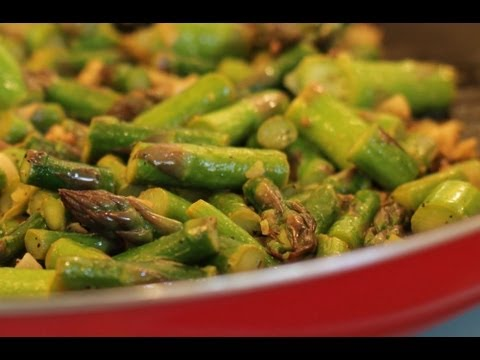 Recipes for Cooking Asparagus Video Clips