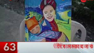 Celebrating power of mother: 'Paint for your Mom' event organised in Mumbai - ZEENEWS
