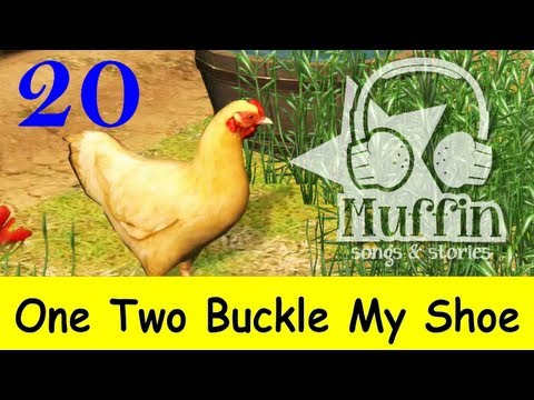 Muffin Songs – One Two Buckle My Shoe Tekerlemeler ve İngilizce Çocuk Şarkıları