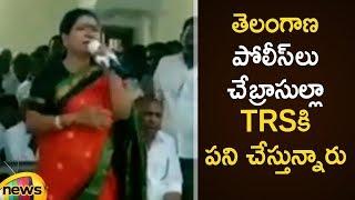 DK Aruna Speech After Telangana Elections | DK Aruna Latest News |Congress Leaders Fire on EVM Scam - MANGONEWS