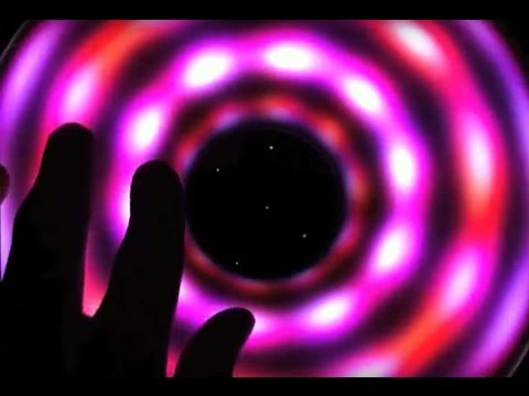 Cosmic Top - demo of a torus top