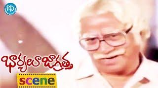 Bharyalu Jagratha Movie Scenes - Rahman Worries About Geeta || Sowcar Janaki || K Balachander - IDREAMMOVIES