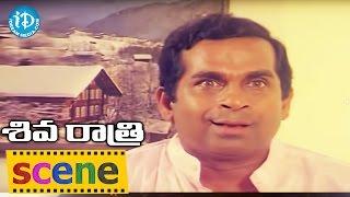 Shivaratri Movie Scenes - Brahmanandam Comedy || Shobana || Sarath Babu || Rama Narayana - IDREAMMOVIES