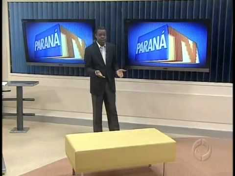 Paraná TV  Motorista é preso por dirigir bêbado.