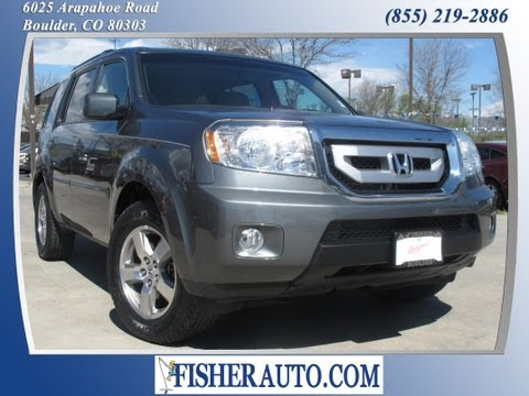 2009 Honda Pilot EXL metal | $23,900* | Boulder, Colorado | Fisher Auto (Stock #135655A)