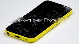 Ремонтируем iPhone 5C + типичные поломки iPhone'ов