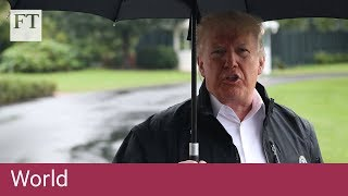 Trump comments on missing journalist - FINANCIALTIMESVIDEOS