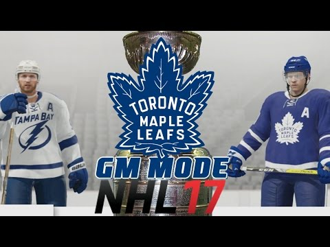 Playoffs Round One - NHL 17 - GM Mode Commentary - Toronto ep. 9