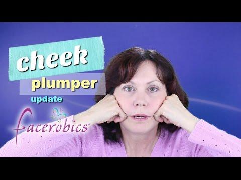 Cheek Plumper Exercise | Lose Sagging Jowls | Sculpt Jawline - FACEROBICS® Face Exercises