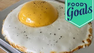 Amazing Fried Egg Fake-Out Cake | Food Network - FOODNETWORKTV