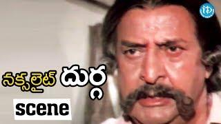 Naxalite Durga Movie Scenes - Sridevi's Father Tries To Take Revenge On Sabapathi || Sridevi - IDREAMMOVIES