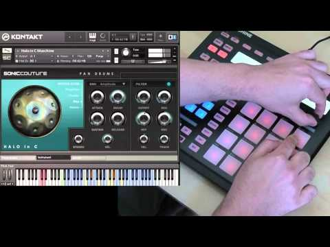 Pan Drums Demo 1 - NI Maschine
