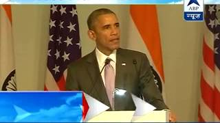 Watch Full speech ll We can grow and prosper together: Obama - ABPNEWSTV