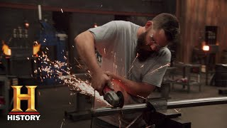 Forged in Fire: Blades from Cannon Scrap Metal (Season 5) | History - HISTORYCHANNEL