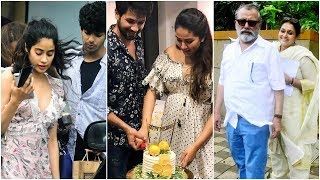 Janhvi Kapoor and Ishaan Khatter attend Mira Rajput's baby shower - TIMESOFINDIACHANNEL