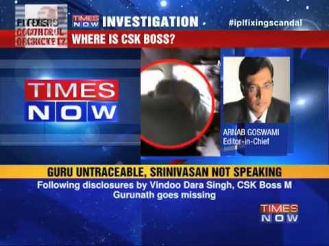 BCCI Chief's son-in-law missing
