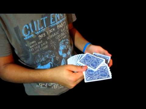 Best Card flourish For Beginners Tutorial / False cut / Learn easy card flourishes
