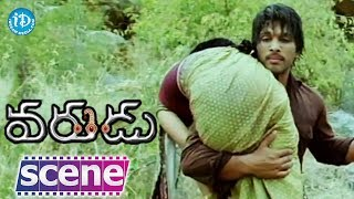Varudu Movie Scenes - Allu Arjun Saves his Wife || Allu Arjun, Bhanusri Mehra - IDREAMMOVIES