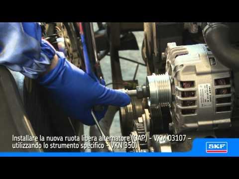 SKF Ruota libera alternatore (OAP) VKM 03107 Volkswagen Passat 1.9 TDI