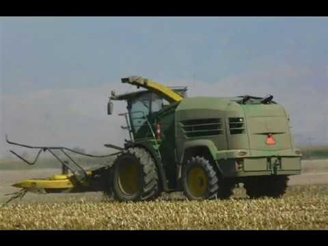 New John Deere Prototype Forage Harvester