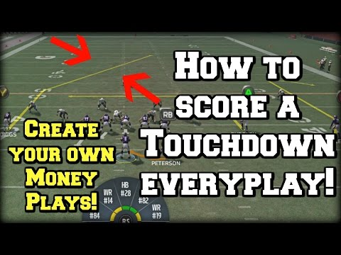 how to score a touchdown