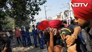 अमृतसर ट्रेन हादसा : स्थानीय लोगों का फूटा गुस्सा, झड़प - NDTVINDIA