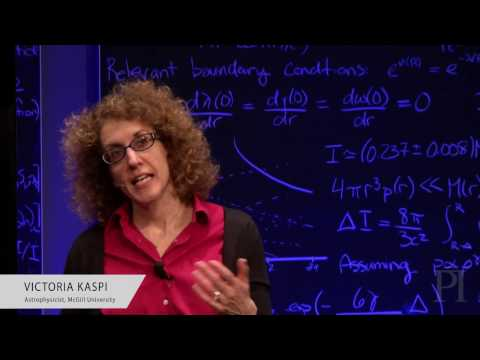 The Lifetime of a Pulsar: Victoria Kaspi at Perimeter Institute